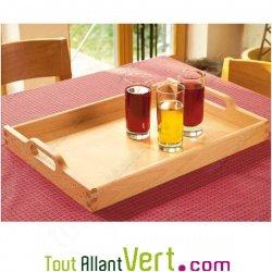 Plateau de cuisine en bois fsc grand format avec poign es for Plateau bois cuisine