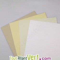 Papier Recycl Couleur Blanc Pour Carte De Visite 250g Achat Vente Cologique