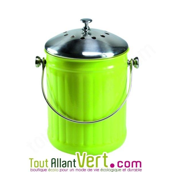 Poubelle compost anti odeur pour cuisine 4 litres achat - Poubelle a compost de cuisine ...