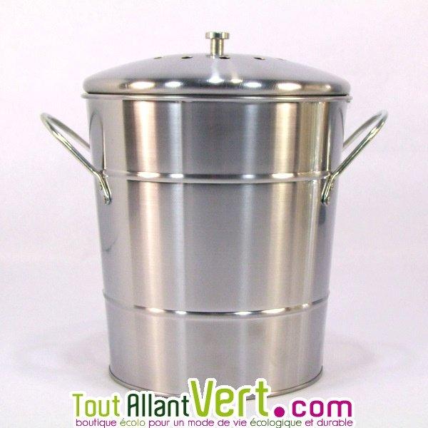 Poubelle De Table Compost Anti Odeurs Pour Cuisine 5 Litres Achat Vente Cologique Acheter