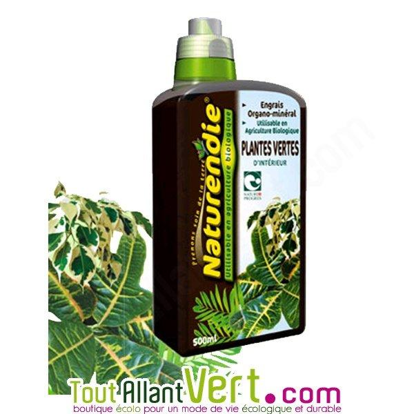 engrais bio pour plantes vertes d int rieur naturendie 500ml achat vente cologique acheter