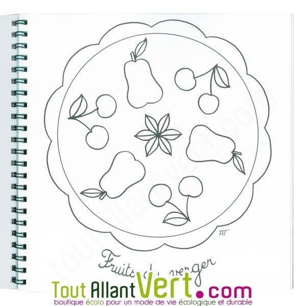 Coloriage mandala pour les petits 4 ans et sur papier - Coloriage tout petit ...