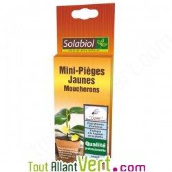 solabiol mini pi ge jaune moucherons pour plantes d int rieur. Black Bedroom Furniture Sets. Home Design Ideas