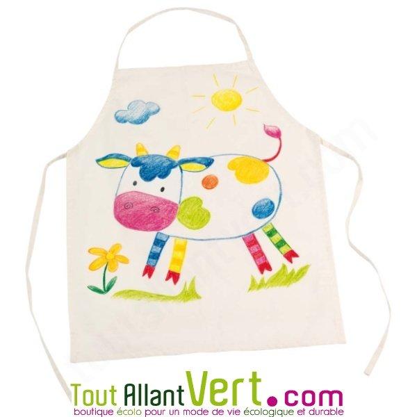 Goki tablier de cuisine enfant cru personnaliser en - Tablier cuisine enfants ...