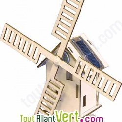 Moulin construire bois et nergie solaire achat vente cologique acheter sur - Moulin a vent en bois a fabriquer ...