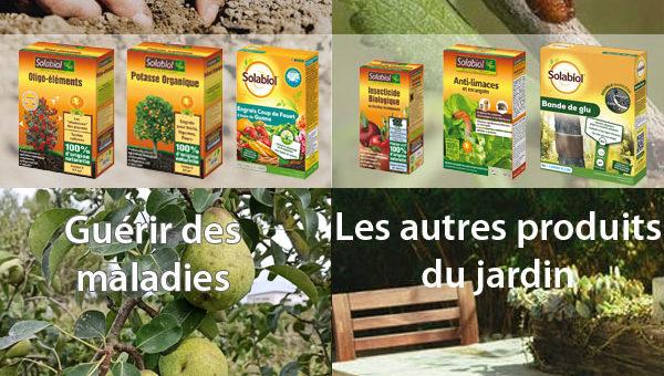 Solabiol, engrais, insecticides, anti-maladies et autres produits pour le jardin bio