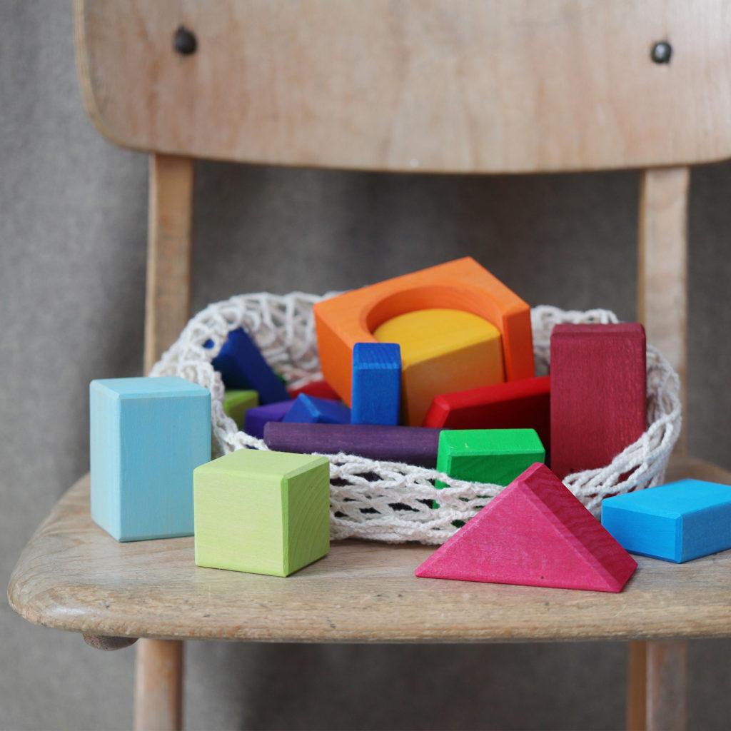 30 blocs de couleur, photo par Grimm's
