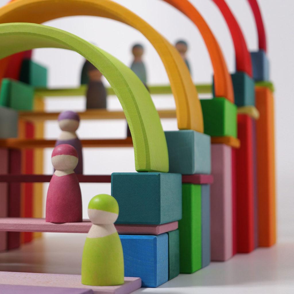 Blocs de construction, personnages et arcs, photo par Grimm's