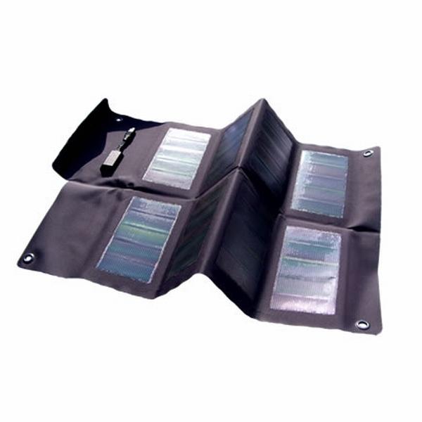 Panneau solaire 12W, portable, souple et pliable