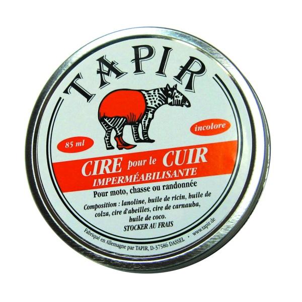 Cire imperméabilisante pour le cuir Tapir 85ml