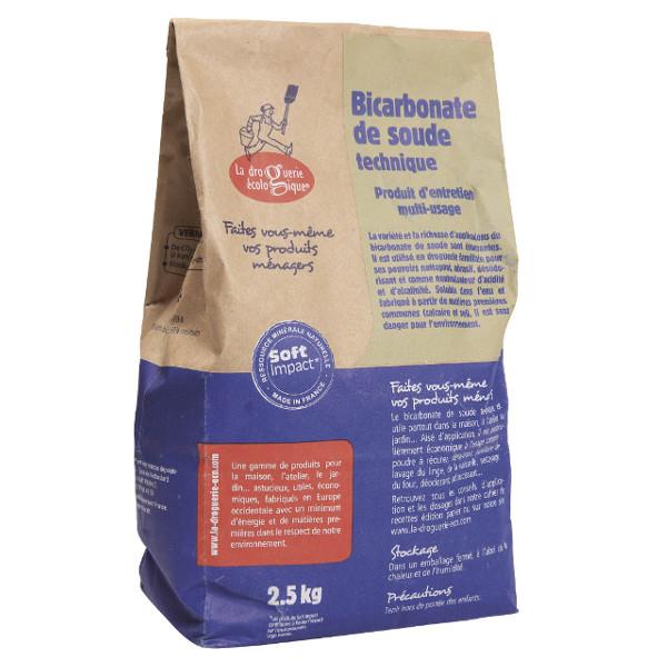 Bicarbonate de soude 2,5kg multi-usages technique