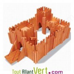 Ch teau fort g ant en bois 70x40 cm achat vente cologique acheter sur for Bureau 70x40